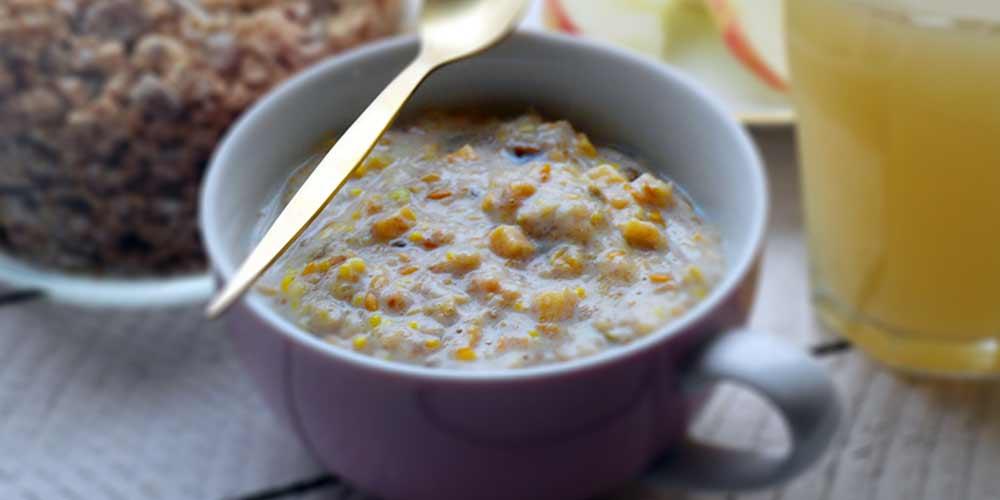 Porridge Apple and Cinnamon