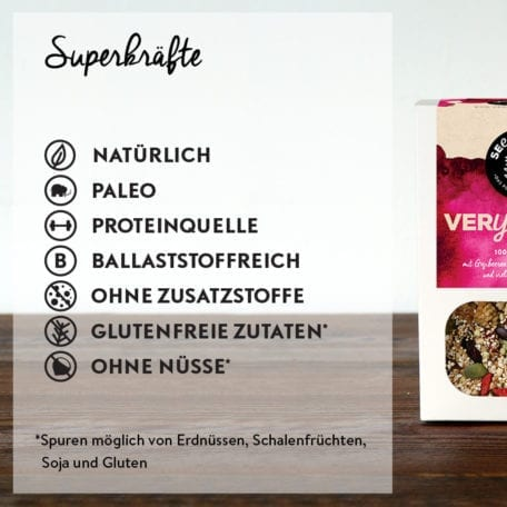 Seedheart Very Berry - Superkräfte
