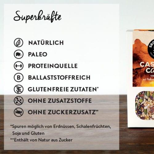 Seedheart Cashew & Cacao - Superkräfte