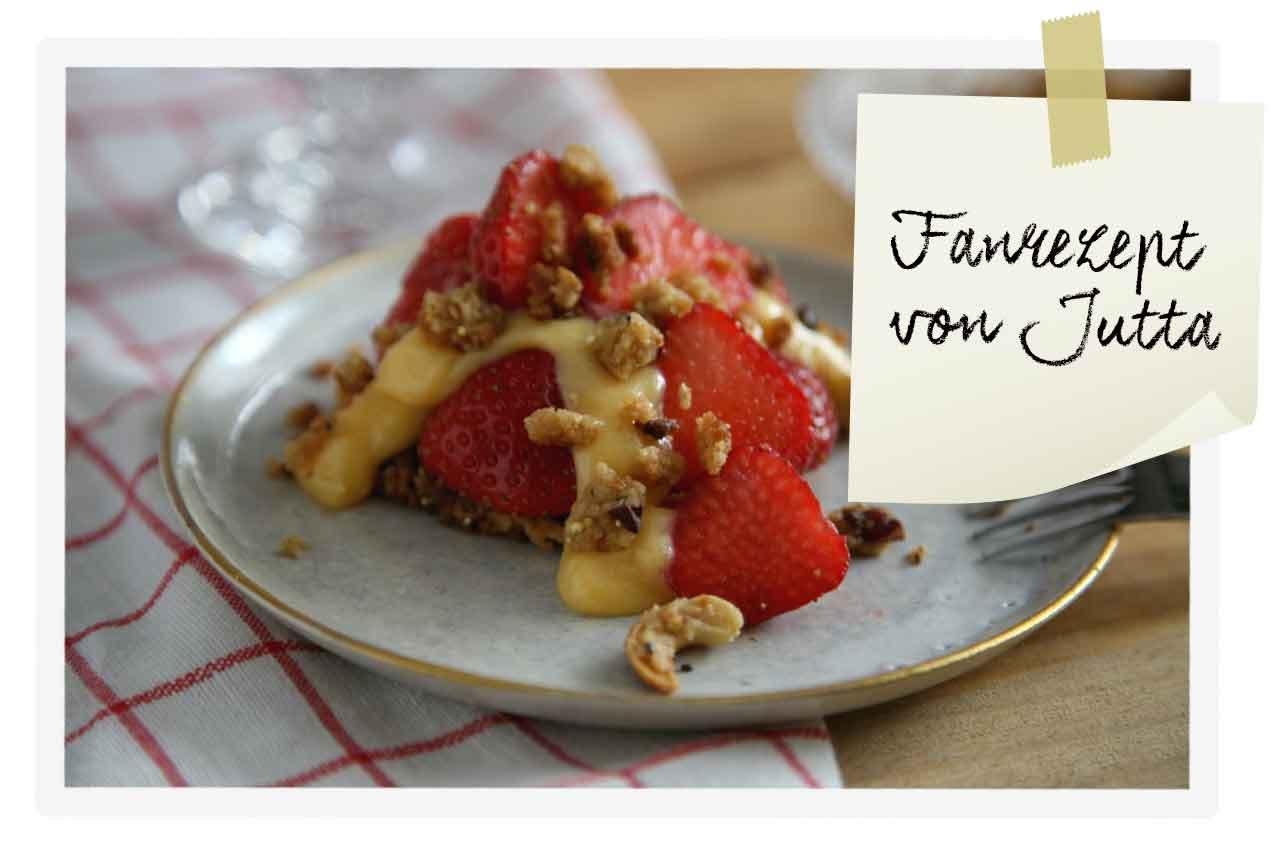 Rezept für Erdbeer-Törtchen