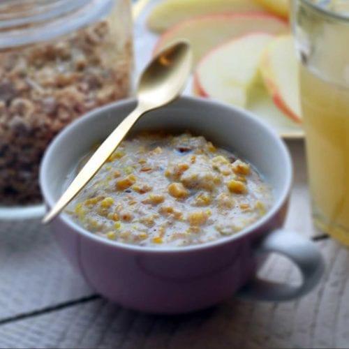 Rezeptbild - Superfood Porridge - Apple & Cinnamon