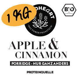 Porridge Apple & Cinnamon (1kg) (Bio)