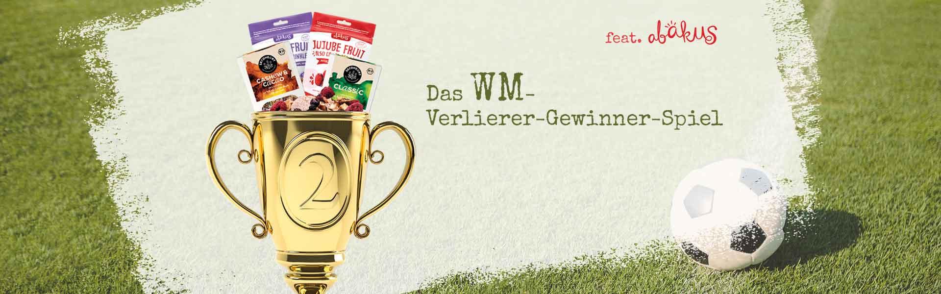 Banner des WM-Verlierer-Gewinnerspiels