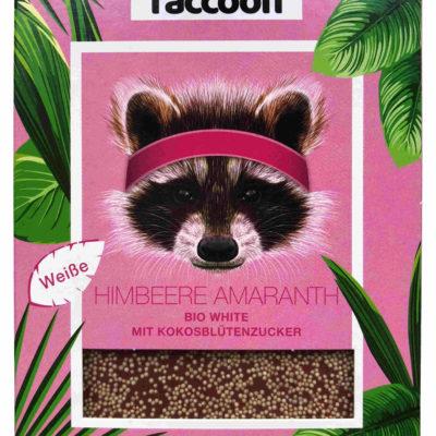 Raccoonchoc Himbeer Amaranth