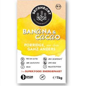 Porridge Banana & Cacao glutenfrei