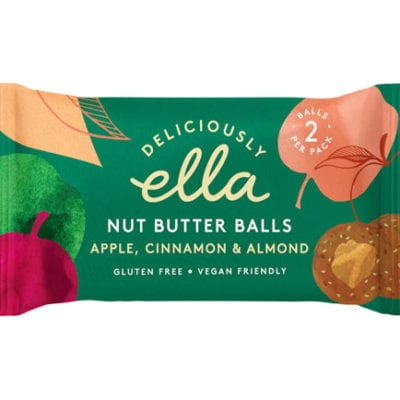 Deliciously Ella Apple, Cinnamon & Almond Nut Butter Ball