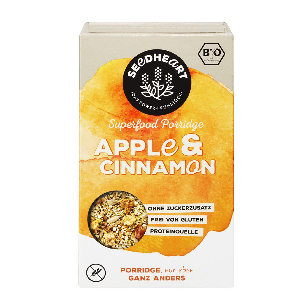 Porridge Apple & Cinnamon