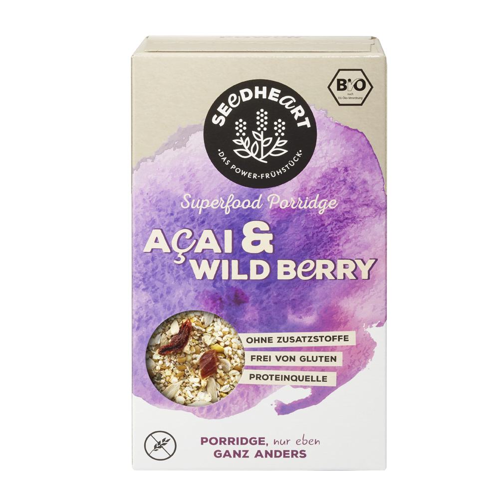 Porridge Acai and Wild Berry