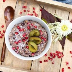 Porridge Acai & Wild Berry