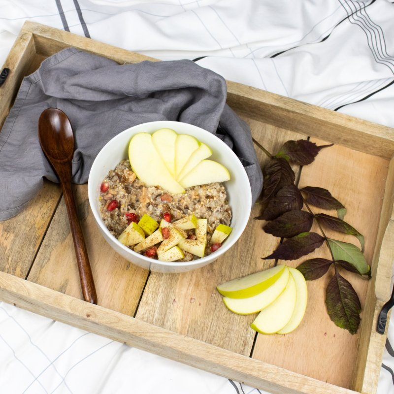 Porridge Apple Cinnamon