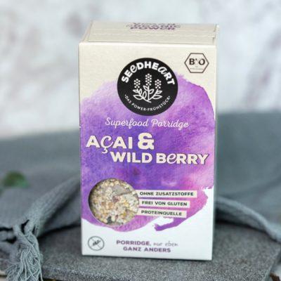 Porridge Acai & Wildberry