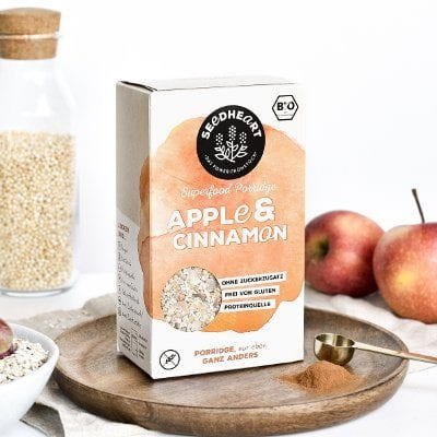 Porridge Apple Cinnamon