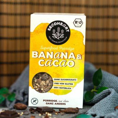 Porridge Banana & Cacao