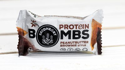 Proteinbombs Peanutbutter Brownie