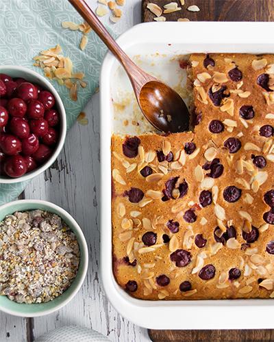 Kirsch-Porridge-Clafoutis