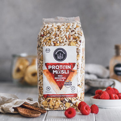Protein Müsli Red Berries & Apple