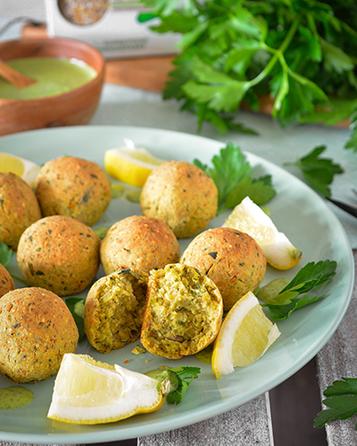 Müsli Falafel