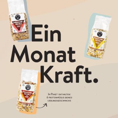 Monatspaket – Protein-Müsli (30 Portionen)